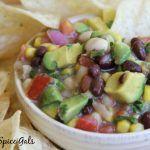 Fresh Bean and Avocado Salsa (Texas Caviar)