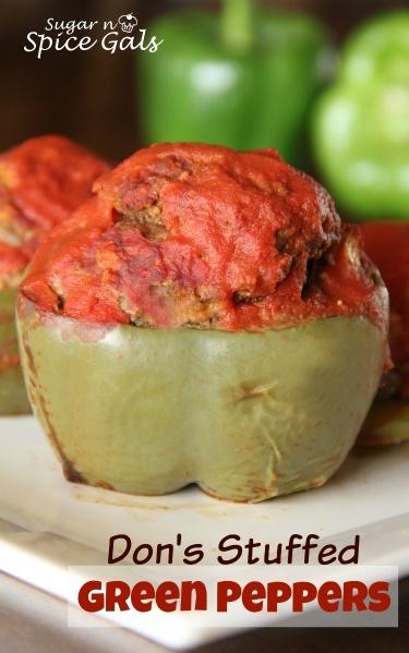 Stuffed Green Pepper