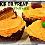 Trick-or-Treat Brownies