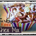 Turkey Feed Chex Mix