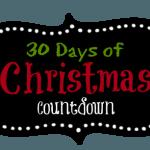 30 days of Christmas Countdown