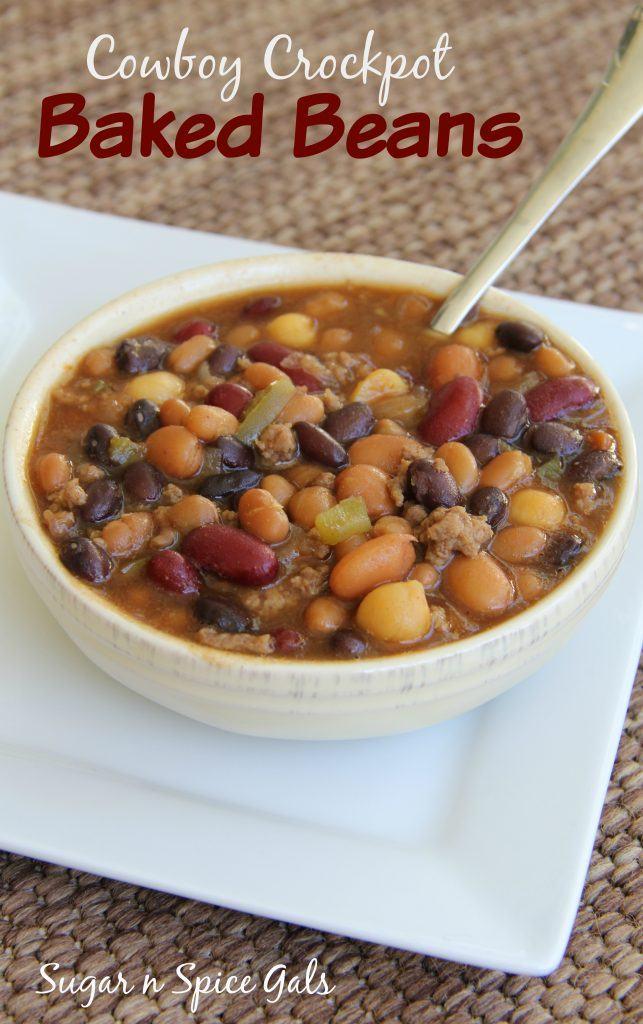 Cowboy crockpot baked beans 2