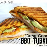 """Dang Good""  BBQ Turkey Panini"