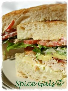 kneaders turkey bacon sandwich