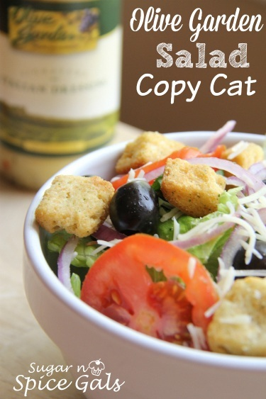 copy cat Olive Garden Salad recipe