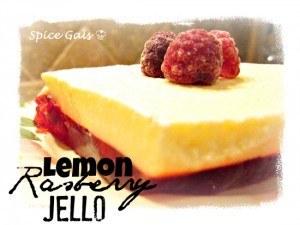 Lemon Raspberry Jello