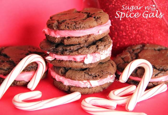 peppermint oreo sandwich cookies