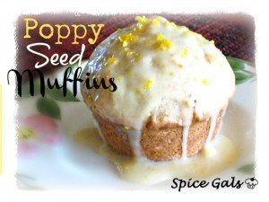 Banana Poppy Seed Muffins
