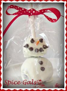 snowman oreo pops recipe
