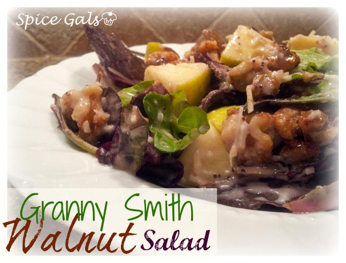 granny smith walnut salad
