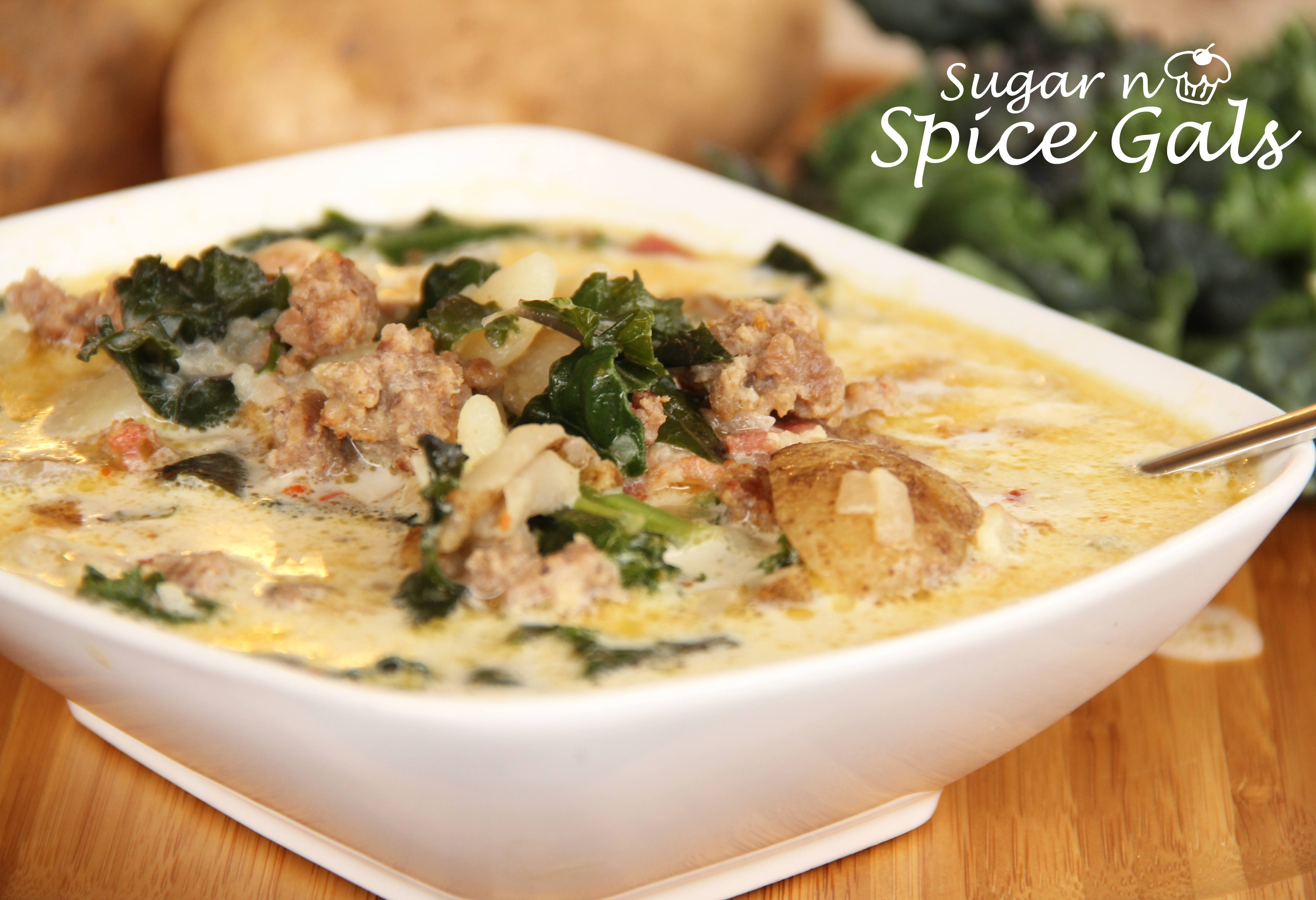Zuppa Toscana Soup (Olive Garden Copy Cat) - Sugar n ...