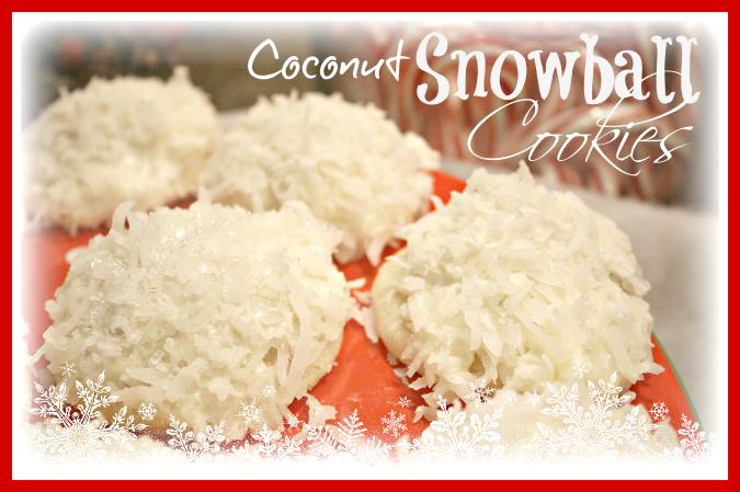 Coconut Snowball Cookies Sugar N Spice Gals