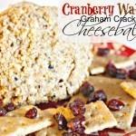 Cranberry Graham Cracker Cheeseball