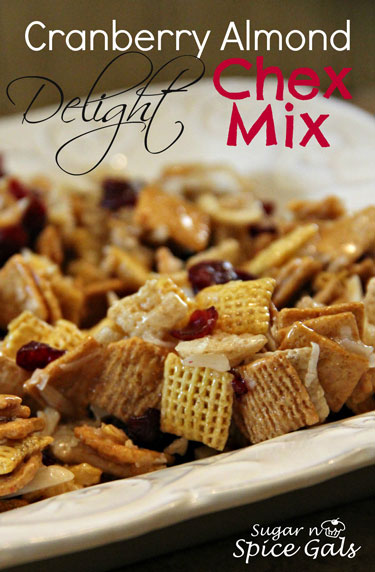 cranberry almond chex mix recipe