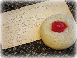 original almond cherry cookie recipe