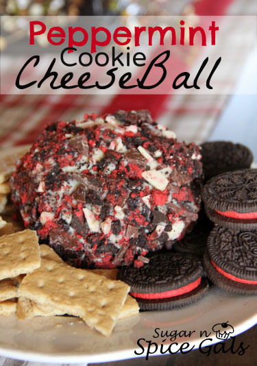 Peppermint Cookie Cheese ball recipe