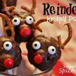 Reindeer Krispy Pops