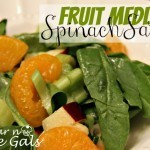 Fruit Medley Spinach Salad
