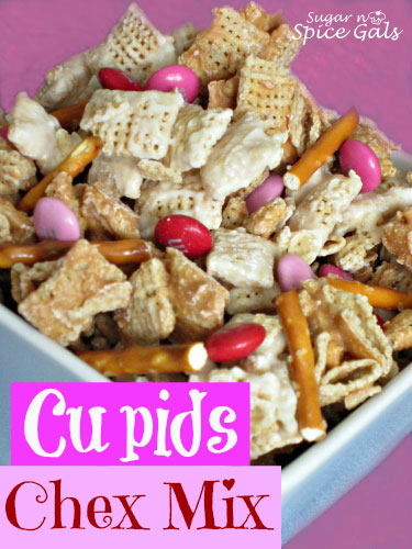 Cupids Chex Mix recipe