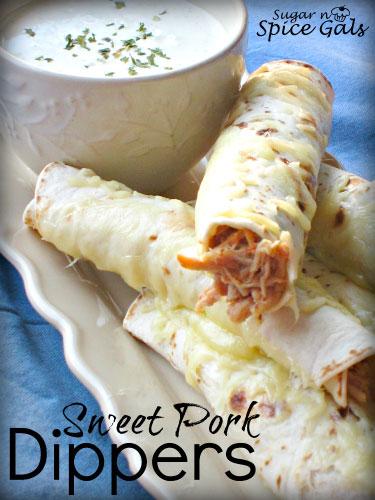 Sweet Pork Dippers recipe