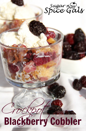 Crock pot Blackberry Cobbler recipe
