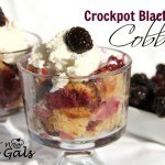 Crock Pot Blackberry Cobbler