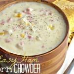 Easy Ham n' Corn Chowder