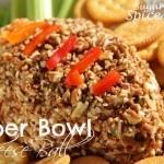 Super Bowl Cheese Ball