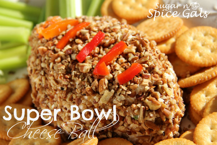 Super Bowl Cheese Ball