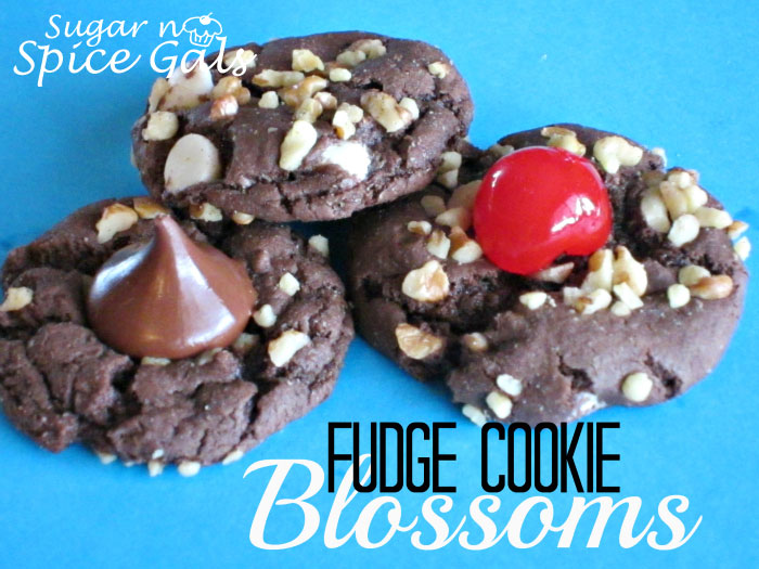 Fudge Cookie Blossoms Recipe
