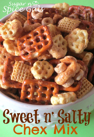 Sweet n' Salty Chex mix recipe