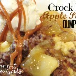Crock Pot Apple Pecan Dump Cake