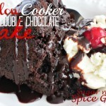Slow Cooker Double Chocolate Cake