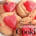 Sweetheart Cherry Almond Cookies