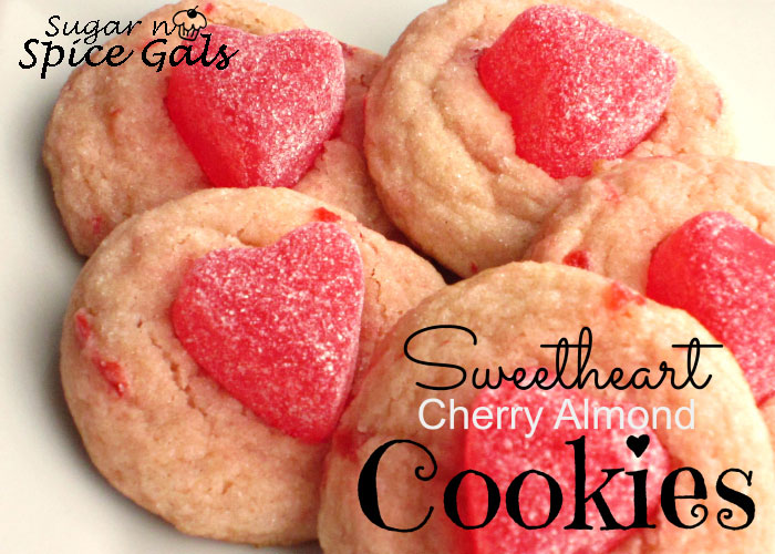 Sweetheart Cherry Almond Cookie recipe