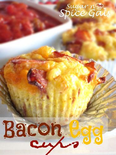 Bacon egg cup recipe