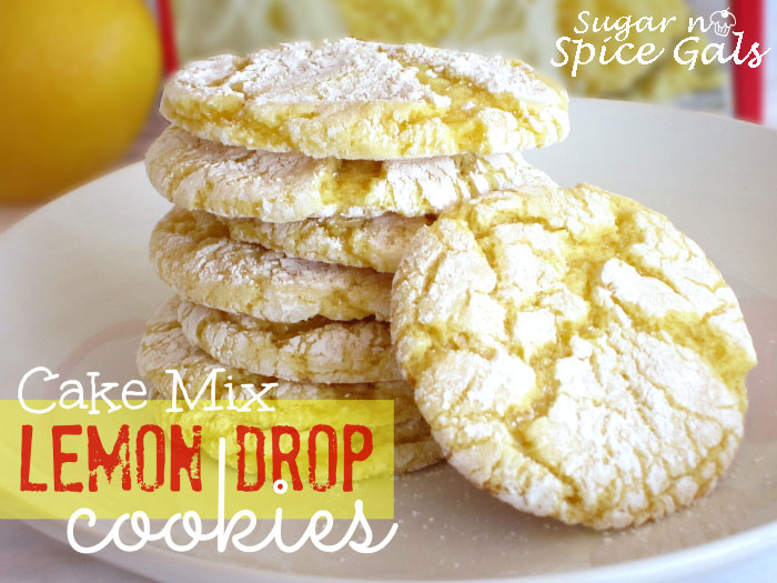 Cake Mix Lemon Drop Cookies