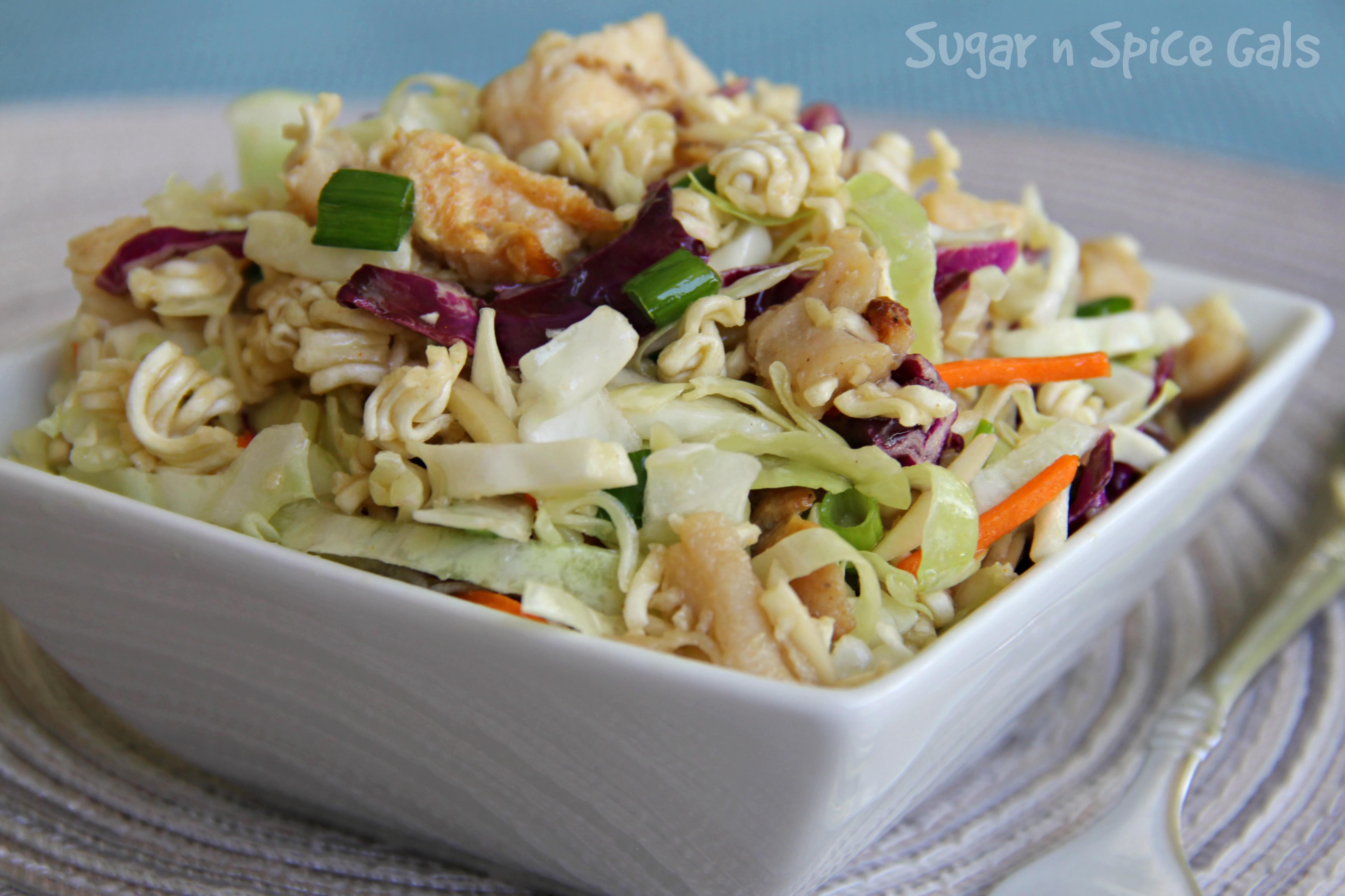 Chinese Chicken Salad Sugar N Spice Gals