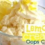 Lemon Cream Oops Cake