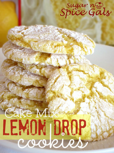 Cake Mix Lemon Drop Cookies recipe