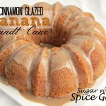 Cinnamon Glazed Banana Bundt Cake