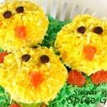 Chickadee Easter Cupcakes