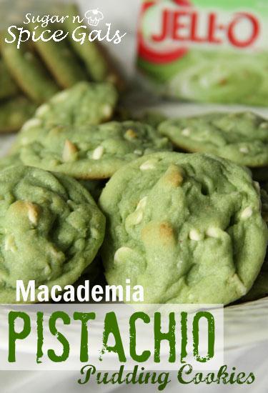 Macadamia Pistachio Pudding Cookies recipes