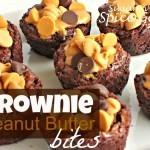 Brownie Peanut Butter Bites