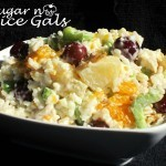 Chicken and Rice Fruit Salad