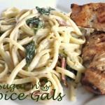 Linguini with Garlic Sauce