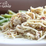 Slow Cooker Chicken Bacon Ranch Pasta