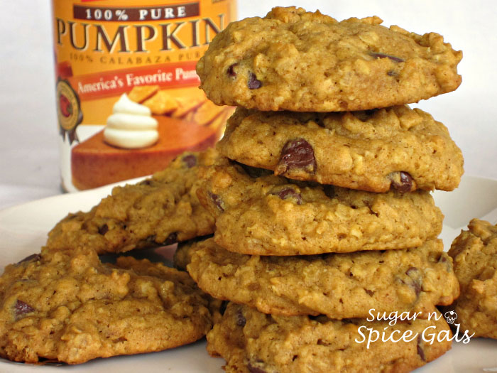 Oatmeal pumpkin spice cookies recipe