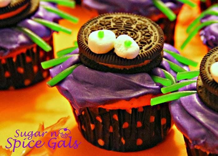 Spider Cupcake Recipe