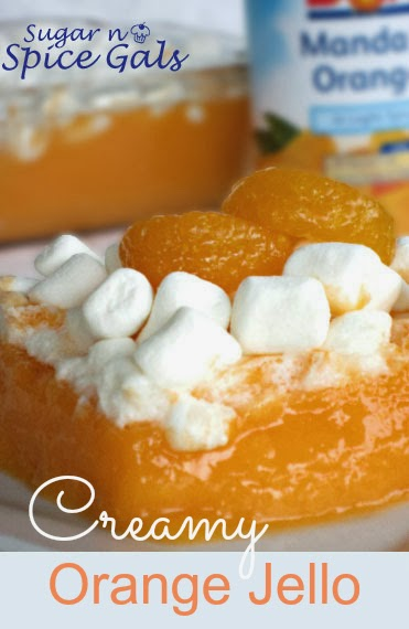 Creamy Orange Jello